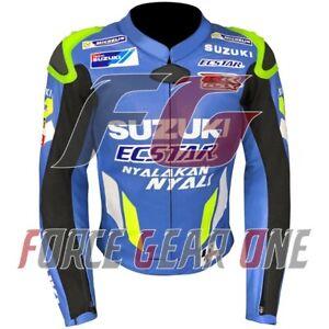 Suzuki Motogp Motorbike / Motorcycle Racing Leather Jacket 2020
