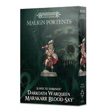 Warhammer AoS - Darkoath Warqueen Marakarr Blood-sky - Brand New! - 83-80