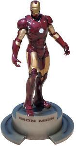 Marvel Tony Stark Iron Man Movie Fine Art Statue Kotobukiya Red Gold Mark III
