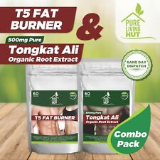 Fat burner & Tongkat Ali Fitness combo- Loose weight, muscle gain, all natural