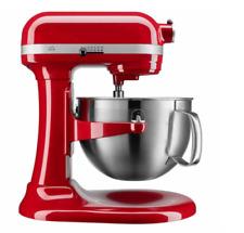Kitchenaid Pro 600 Stand Mixer 6-qt w/ pouring shield and bonus - Empire Red