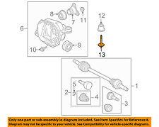 JAGUAR OEM 03-08 S-Type Axle Differential-Rear-Insulator Bolt C2C22516