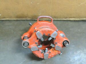 "RIDGID HOG DIE HEAD JAM PROOF PIPE THREADER 141 2-1/2"" - 4"" - USED"