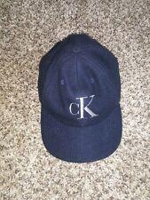 Vintage Calvin Klein Hat Navy Blue Wool