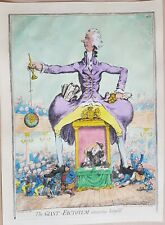 "JAMES GILLRAY. "" THE GREAT FACTOTUM AMUSING HIMSELF ."""