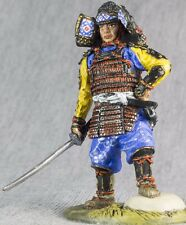 Japan Samurai with Katana Painted 1/32 Metal Soldier Figures 54mm Toy Soldier
