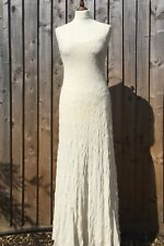 RALPH LAUREN superbe soie ivoire taille de robe 6