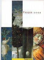 ITALIA - FOLDER 2002 - PASQUA 2002 -  VALORE FACCIALE  € 5,00 sconto 30%