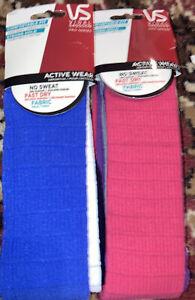 2 packs VIDAL SASSOON activewear headwraps ((3ct x2))