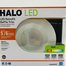 "Halo 5""/6"" LED Retrofit Baffle Trim LT560WH6930 NIB"