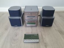 Aiwa XR-MD90 Mini disc, CD Player with speakers + remote control