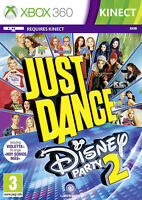Just Dance: Disney Party 2 XBox 360 Kinect Game *New & Sealed*