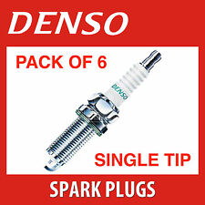 6 X DENSO Spark Plugs - K16PR-U FITS MERCEDES CLK200 E320 NISSAN PULSAR BKR5E