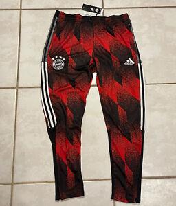NWT ADIDAS Bayern Munich 2020 AOP Training Pants Men's XL GK8624