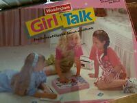 Vintage Retro Waddingtons Girl Talk Childrens Teen Board Game 1988
