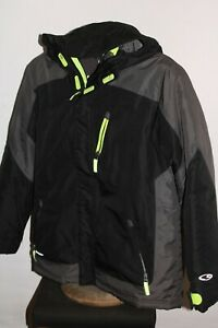 CHAMPION BOYS Large L w/zip-out Insulation Hooded Snowboard/snow Jacket