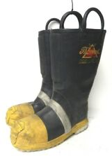 Thorogood Structural Hazmat Steel Toe Firefighter Fire Boots size 8 Medium #4