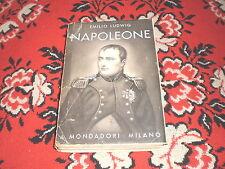 emilio ludwig napoleone a. mondadori 1932 le scie mondadori