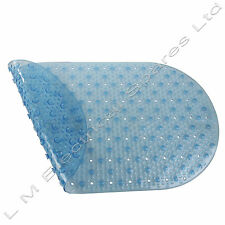 Bubble Bath Bathroom Shower Mat Rug Anti Non Slip Suction Cups Rubber Safety