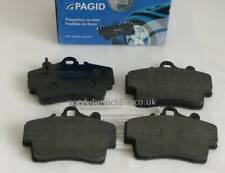 PAD SET FRONT PAGID NEW FOR BOXSTER 2.5 96>99 2.7 08/99>2004 98635193915
