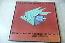 """MARIO SCHIANO/LINO LIGUORI""""Concerto della statale-disco 33 giri EDP 1968"""""""
