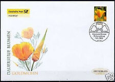 Frg 2006: Goldmohn! post-Fdc No. 2568 With Berlin First Day Postmark! 1711