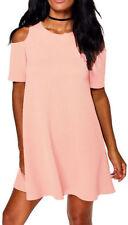 Vestidos de mujer de color principal negro de poliéster talla 38