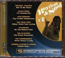 RHYTHM & SOUL - N°6 - MOTOWN - CD COMPILATION NEUF SOUS CELLO