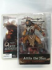 MCFARLANE'S MONSTERS III : ATTILA THE HUN, 6 FACES OF MADNESS COLLECTION