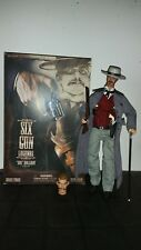 Sideshow, Six Gun Legends, Doc Holliday, Val Kilmer, 2 Köpfe, Figur, 1/6, OVP