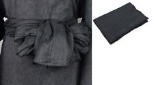 Japanese Men's Traditional Yukata Kimono Heko Obi Belt 400 x 45cm Black
