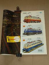 GROS Catalogue Train FLEISCHMANN 1967 HO  brochure prospectus prospekt