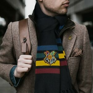 Official Warner Bros Licence Harry Potter Hogwarts Scarf - Classic Edition
