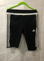Adidas Women's Black/White Climacool Shorts Size Medium Polyester