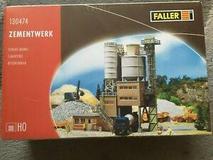 Faller HO 130474 Cement Works Kit BRAND NEW SEALED
