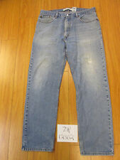 Used 505 regular fit levi's jean tag 38x34 meas 36x33 zip12302