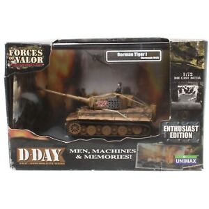 Unimax Forces of Valor D-Day German Tiger 1 Normandy 1944 1:72