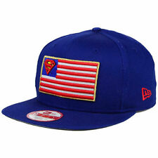 Superman USA Flag Snapback New Era 9Fifty Adjustable Flat Bill Brim Hat Cap Lid