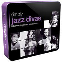 SIMPLY JAZZ DIVAS (3CD TIN) 3 CD NEU