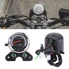 Motorcycle Shockproof Dual Odometer Speedometer for Honda Suzuki Cafe Racer AF