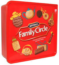 Biscuits Mc Vities Family Circle Variety Selection Tub Mc-Vities 900g