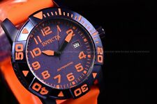 Invicta Men's 45mm Coalition Forces Automatic NH35A Orange Strap Blue SS Watch