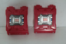 Transformers G1 Fortress Maximus Arm Covers Red VINTAGE Parts Gun Forearm