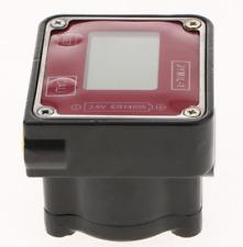 Digital Turbine Flow Meter Diesel Oil Fuel Electronic Flow Meter Gauge Bspf 12