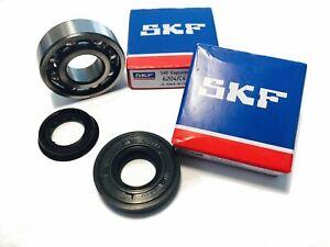 SKF C4 Crankshaft Bearing Set With Shaft Seals Hi-Quality Metal Cage Yamaha Aero