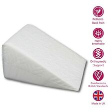 Pain Relief Orthopaedic Back Support Foam Cushion Bed Wedge Pillow Multi Purpose