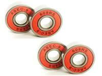 X 4 UPGRADED BEARINGS SET FOR MINI OR MAXI MICRO SCOOTER WHEELS 608 2RS ABEC 9