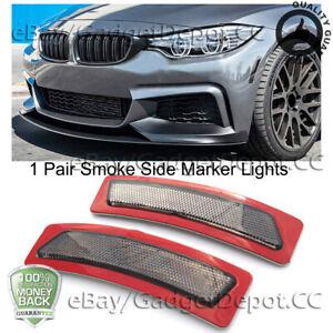 For BMW F32 F33 F36 4-Series 2014-2019 Bumper Reflector Smoke Side Marker Lights