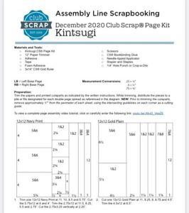 Club Scrap Kit - Kintsugi