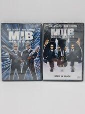 Men In Black 1 & 2 Dvd Lot Will Smith & Tommy Lee Jones New Sealed